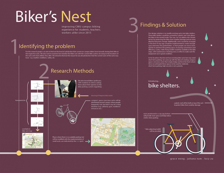 research methods ux how people work biking parking