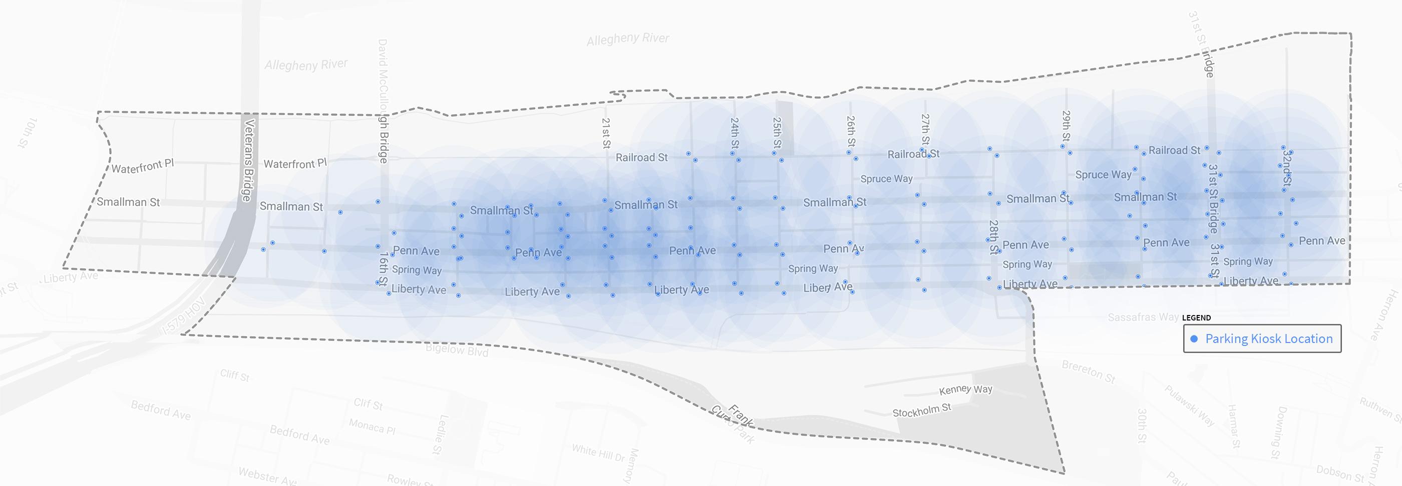 Proposed Parking Heatmap