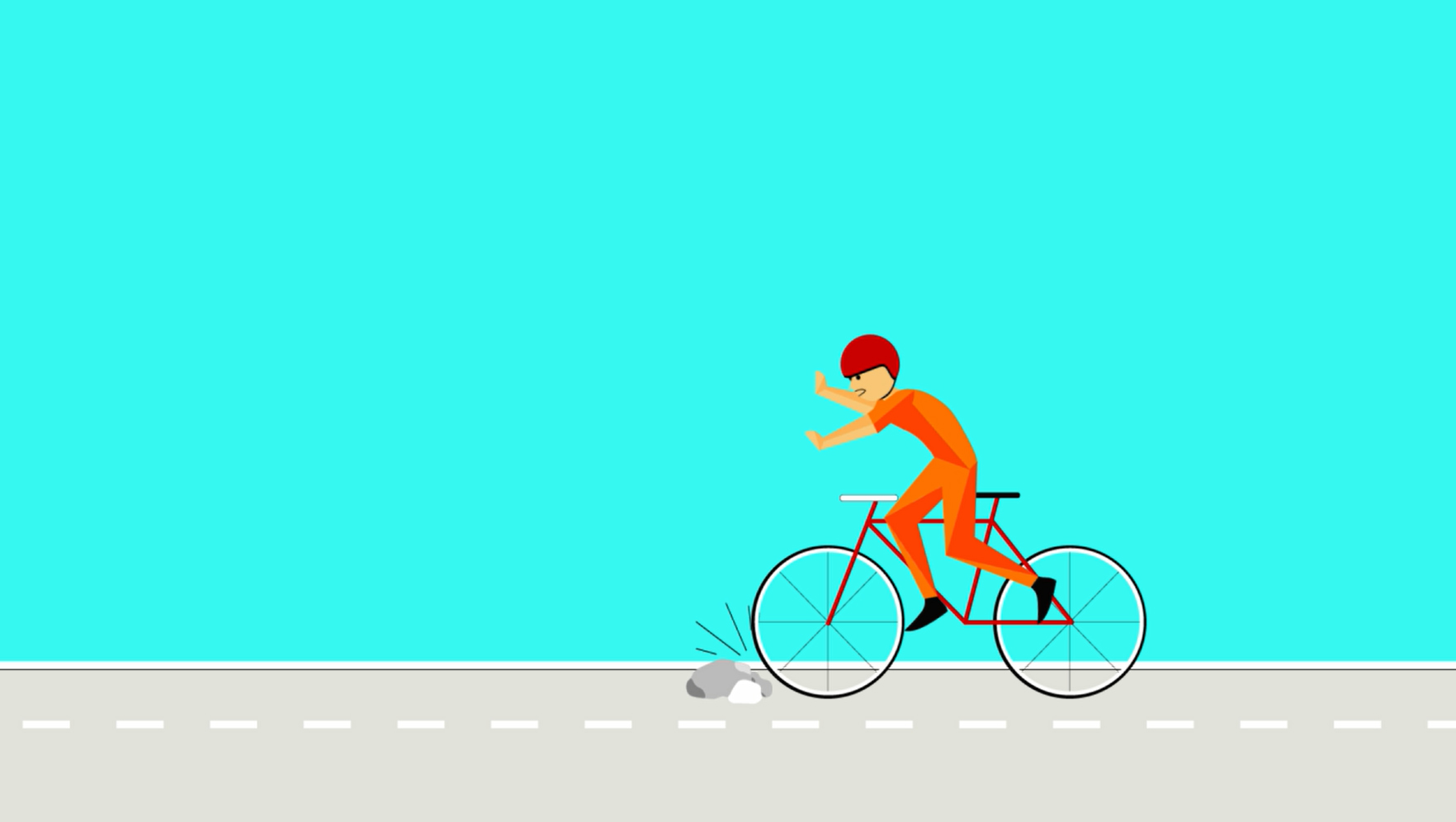 Bicycle Crash Sequence