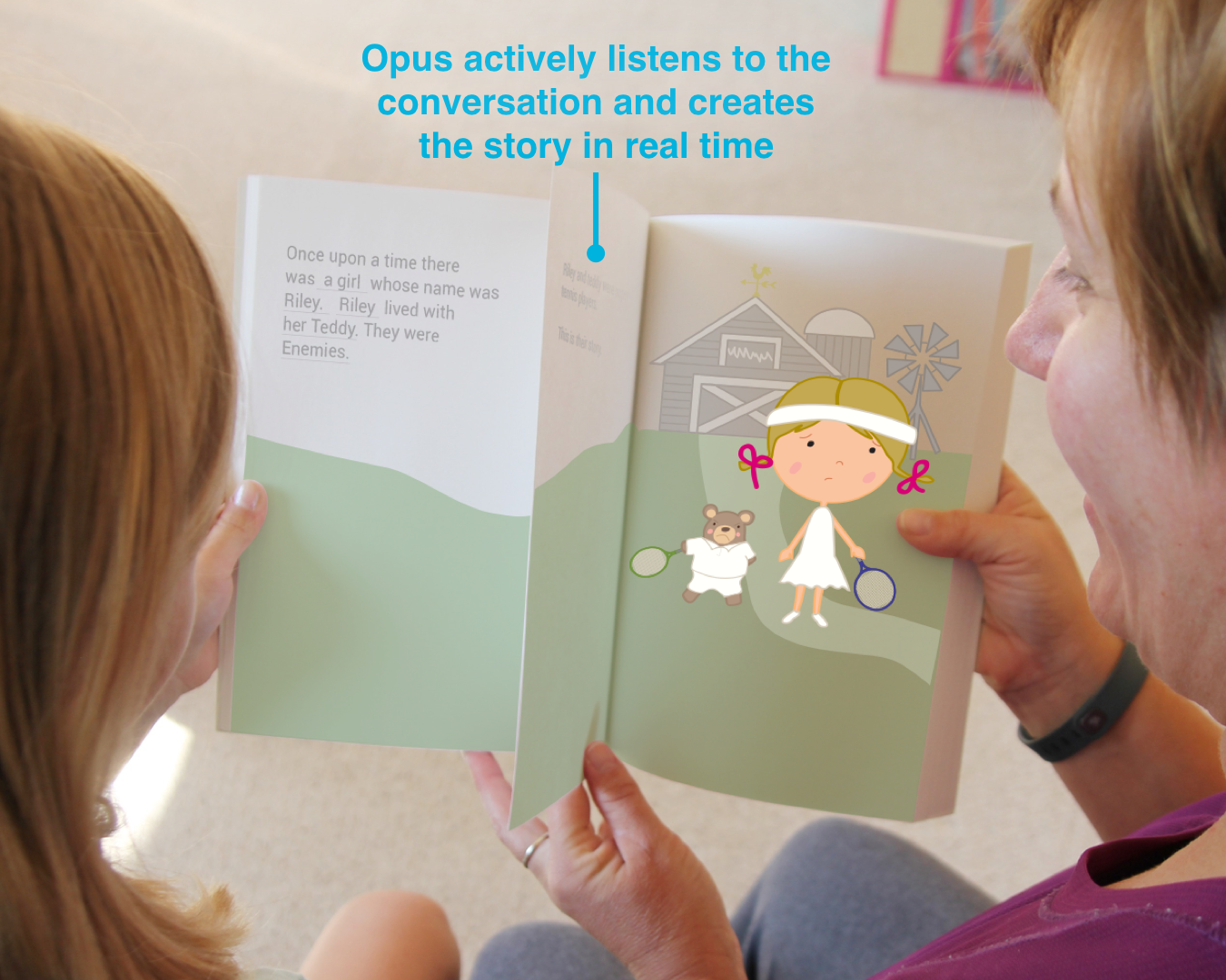 E-paper Adaptive Storytelling book.