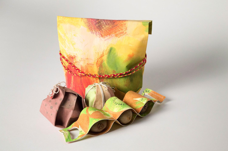 studio shot of packaging design system
