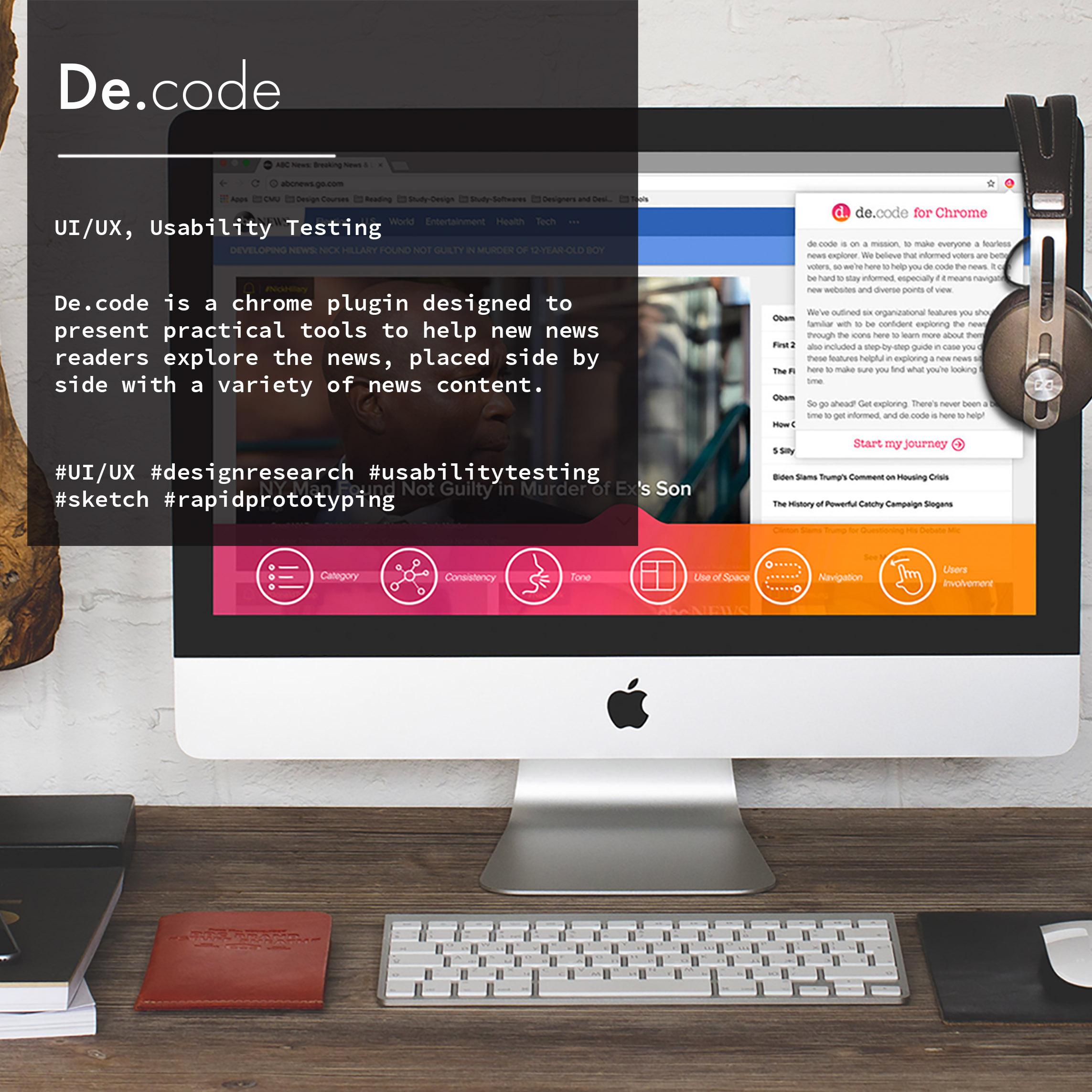 De.code: Making everyone a fearless news explorer