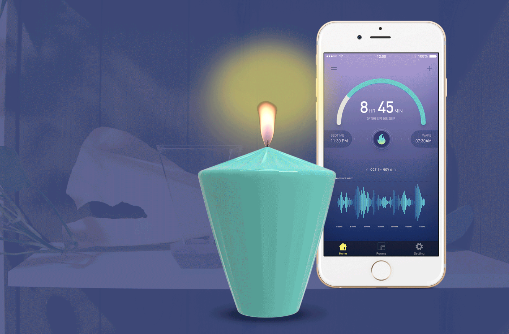 Corus: An ambient and instinctual system to promote dyadic sleep in cohabitating couples