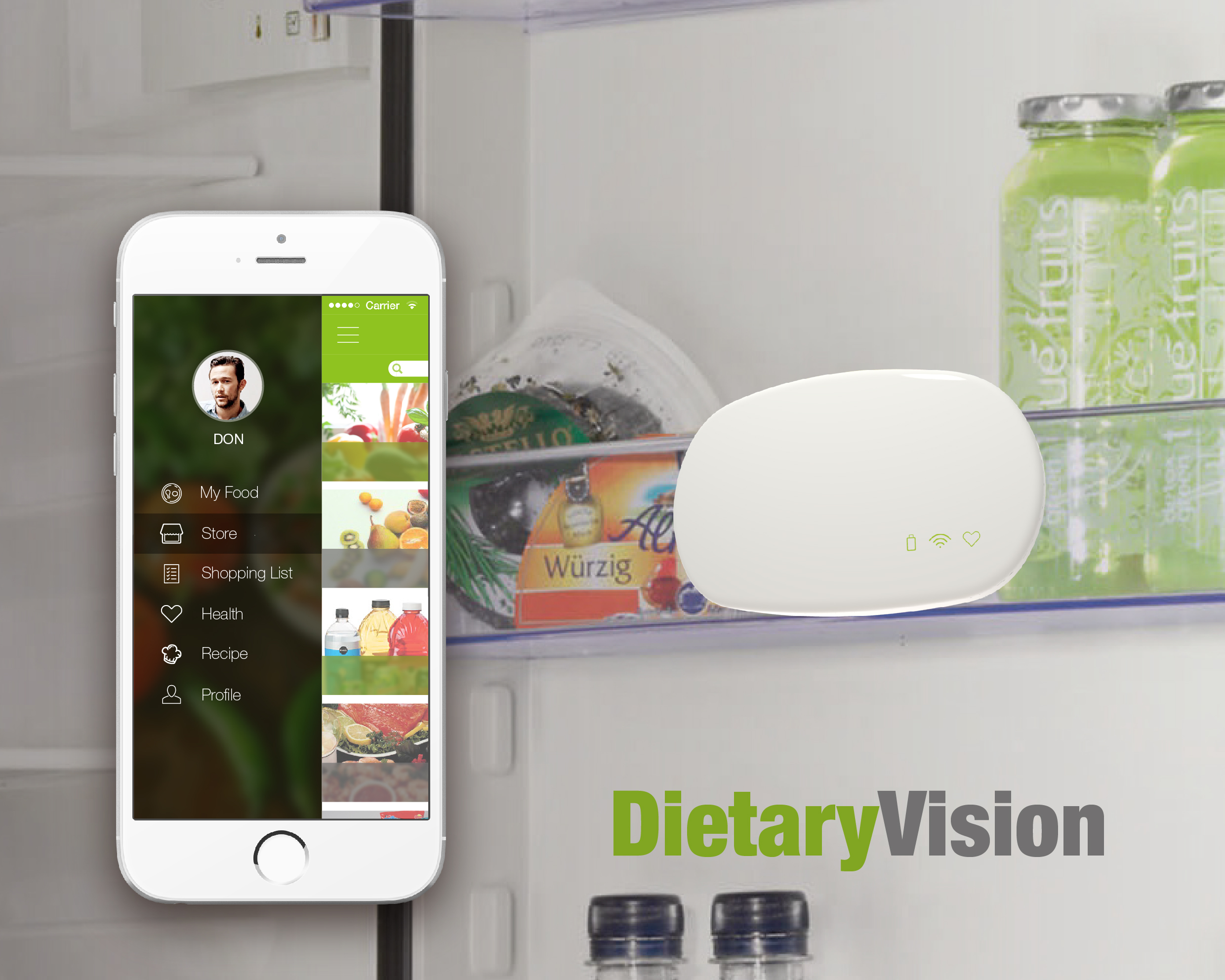 Project 3 DietaryVision, context-aware product for millennials' meal planning
