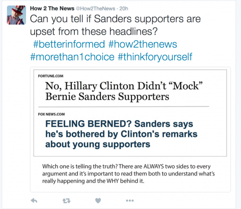 How do Sanders supporters feel?