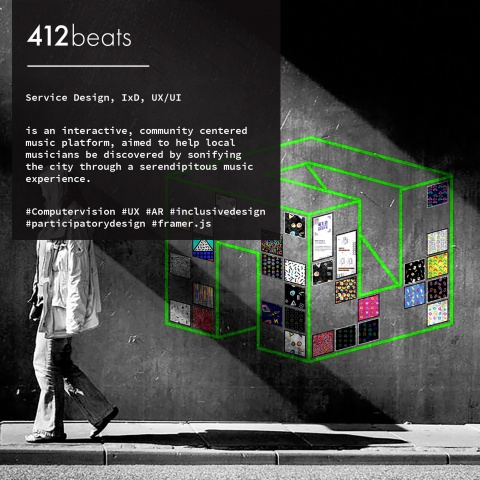 412beats: A serendipitous community intervention