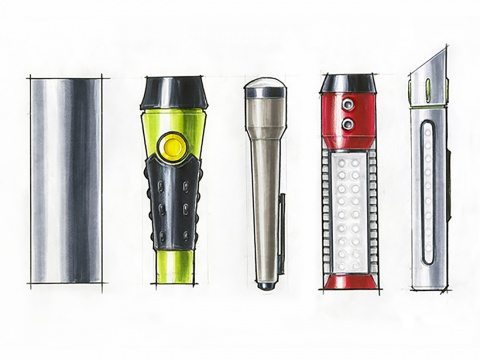 Flashlight Renderings