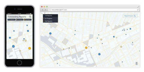 A re-envisioned digital platform for pittsburgh's 311 system that incorporates user-generated reporting and follow-up