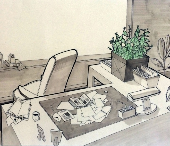 Narrative through perspective - by Deborah Lee