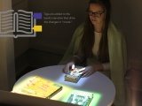 An exploration of how AR could enhance the personal reading experience using tagged books and an integrated lighting and sound system. Additional Team: Saumya Kharbanda and Kaylee White
