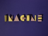experimental typography using paper