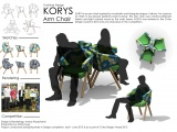 Furniture Design: KORYS Arm Chair