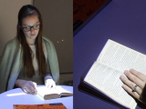 Immersive reading experience