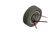 Wheel Assembly CAD