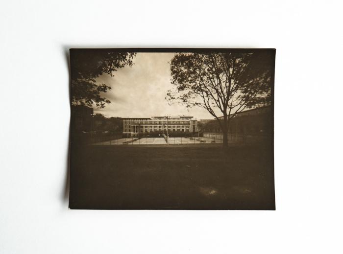 Pinhole image of Margaret Morrison Carnegie Hall